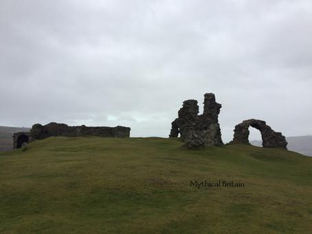 Castell Dinas Bran, Denbighshire, Wales