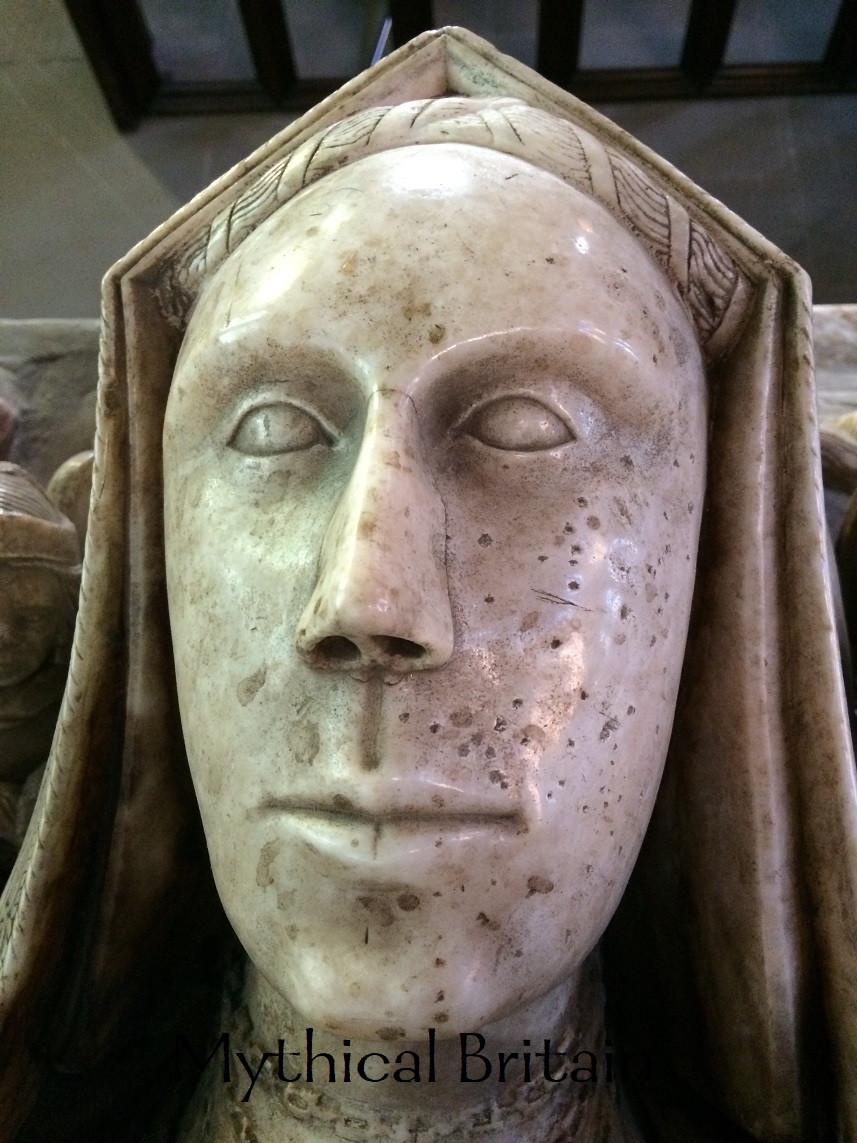 Face of Lady Eleanor Brereton of Malpas, Cheshire
