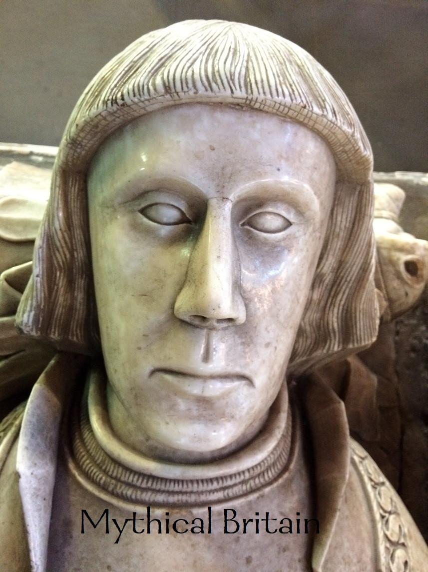 Face of Sir Randal Brereton taken from his tomb