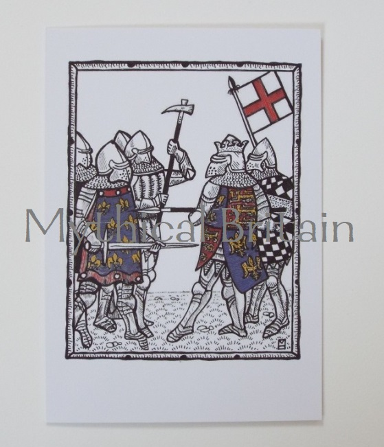 Agincourt Greetings Cards - Alencon and