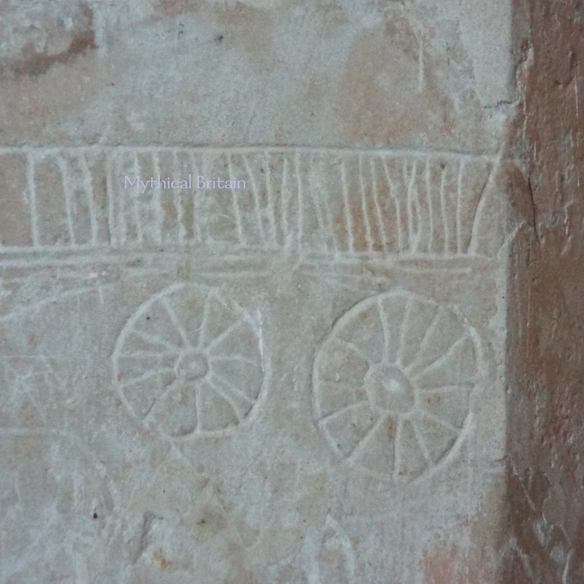 Mediaeval Wagon, Anstey Church