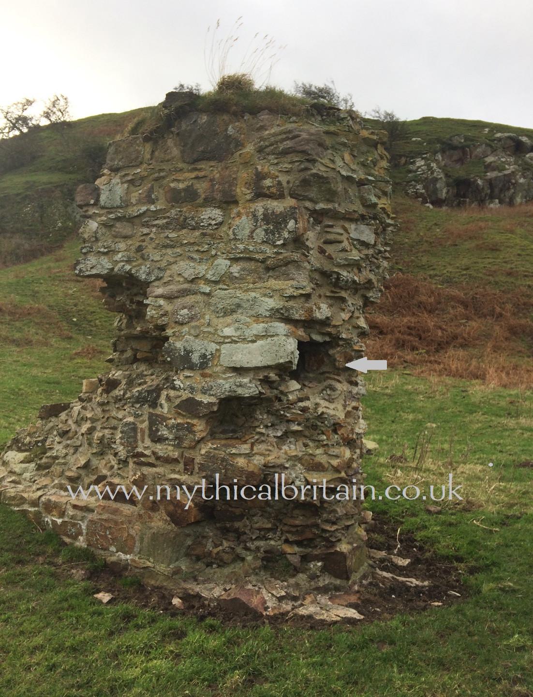 Northern gatehouse Degannwy Castle