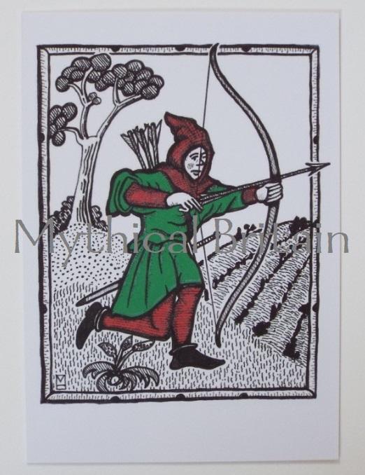 Agincourt Greetings Cards - Robin Hood