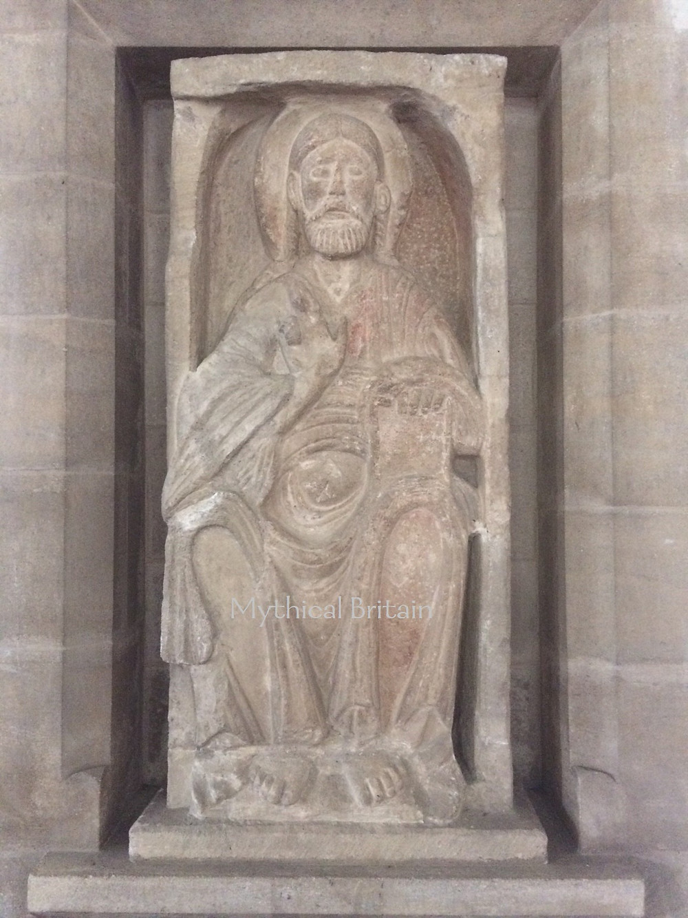 Image of Christ in Majesty at Barnack Church