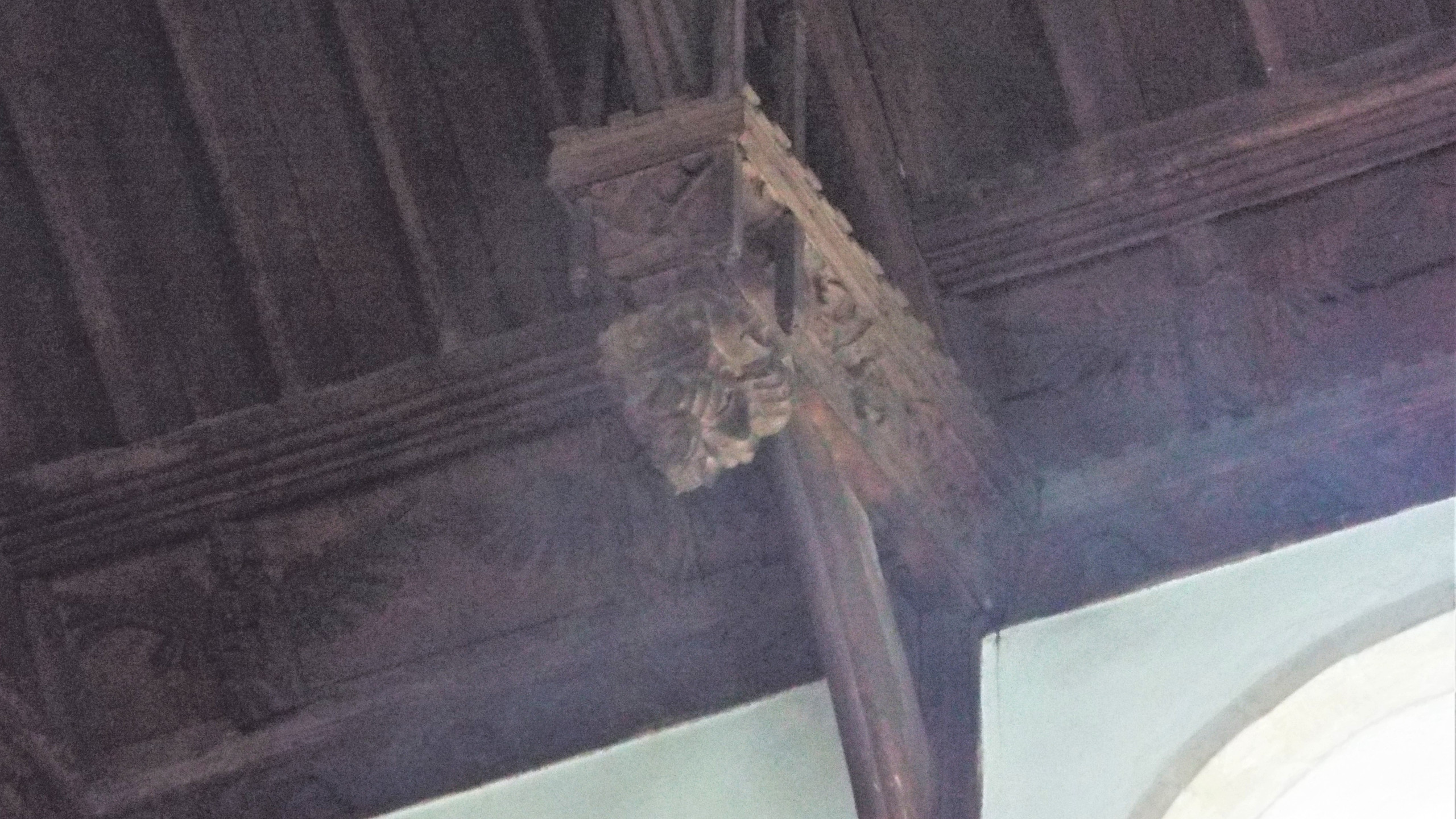 Detail of Hammerbeam Roof