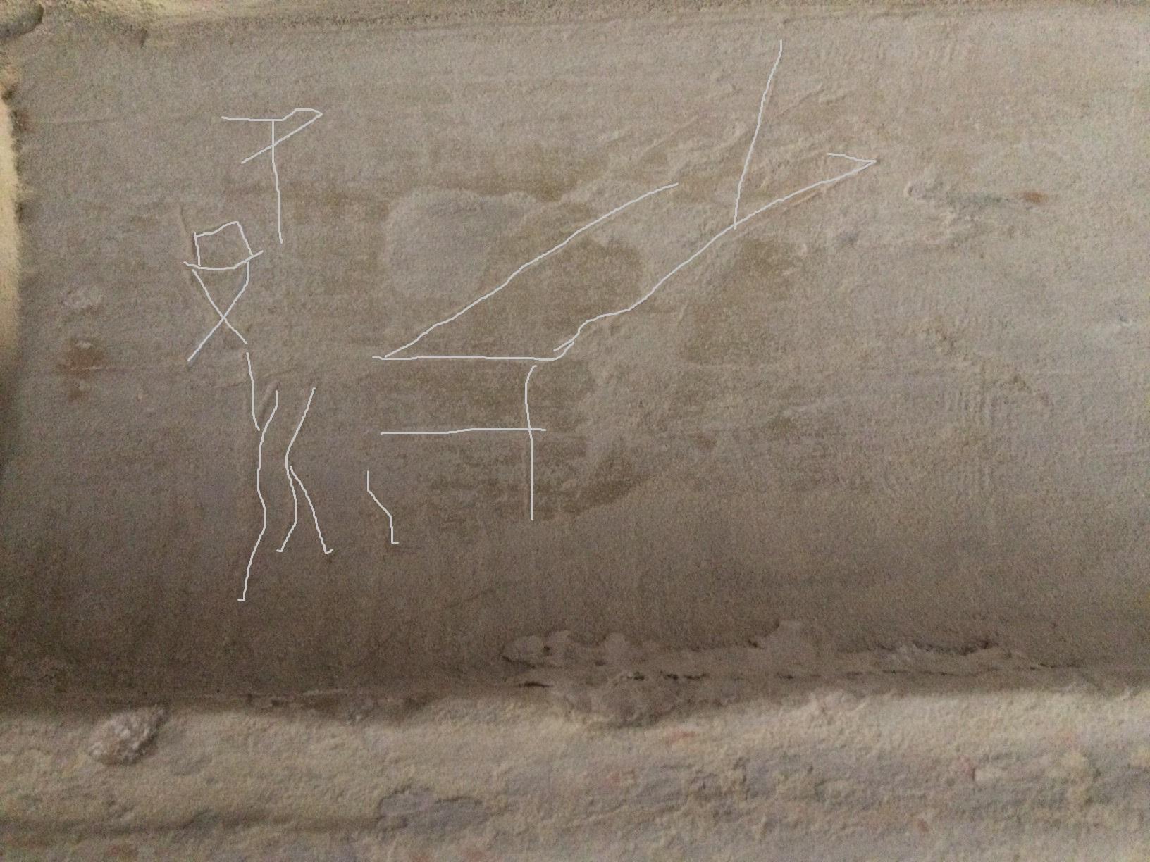 Graffiti 1 - Scratches highlighted