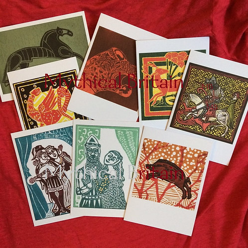 Mixed Greetings Card Selection - Pack of 12