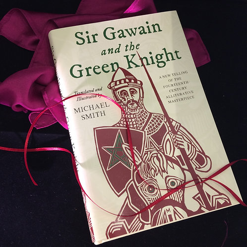 Sir Gawain and the Green Knight - signed and dedicated collectors edition