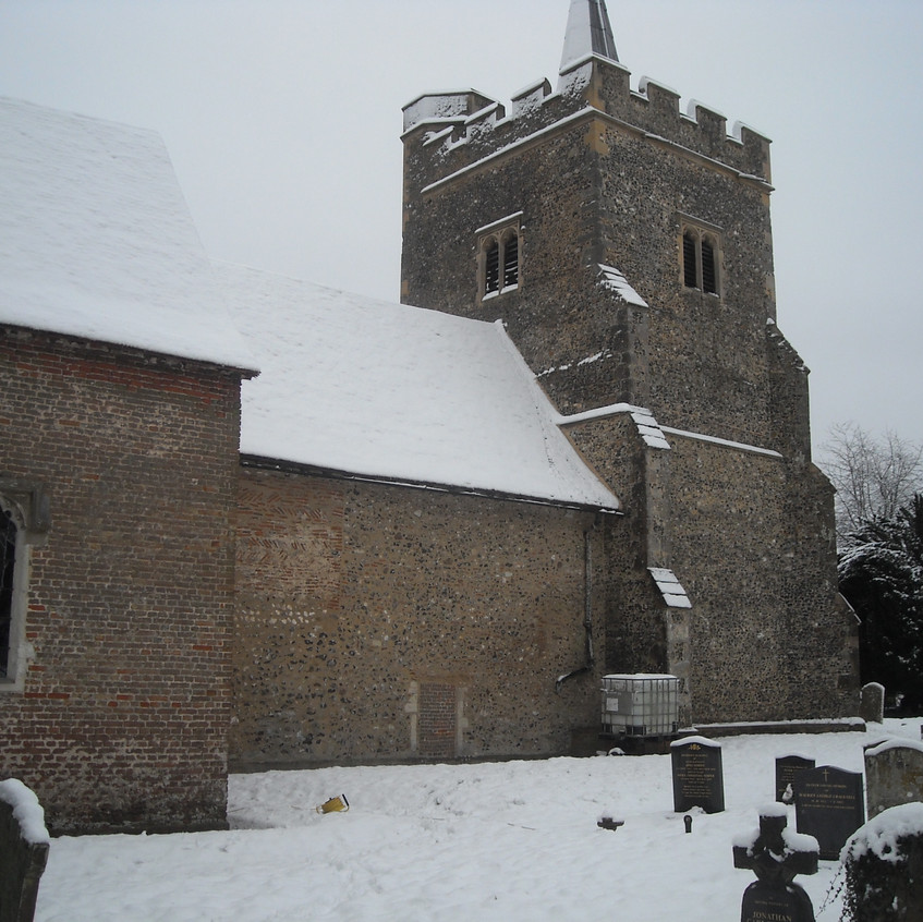 Church in snow Anne S pic 3