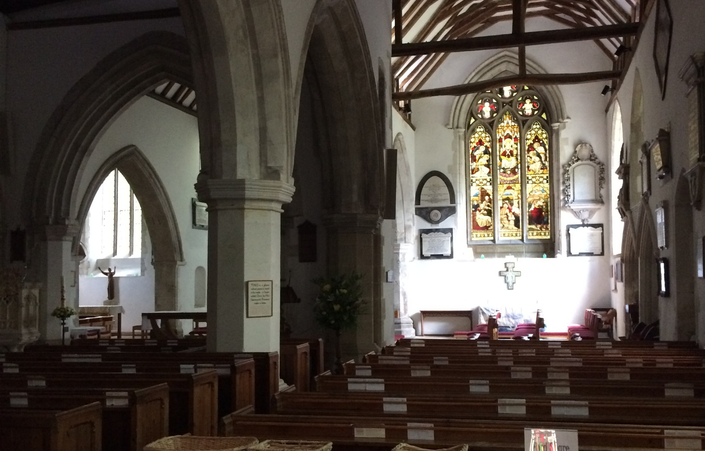 Interior at Holy Trinity Church, Cookham