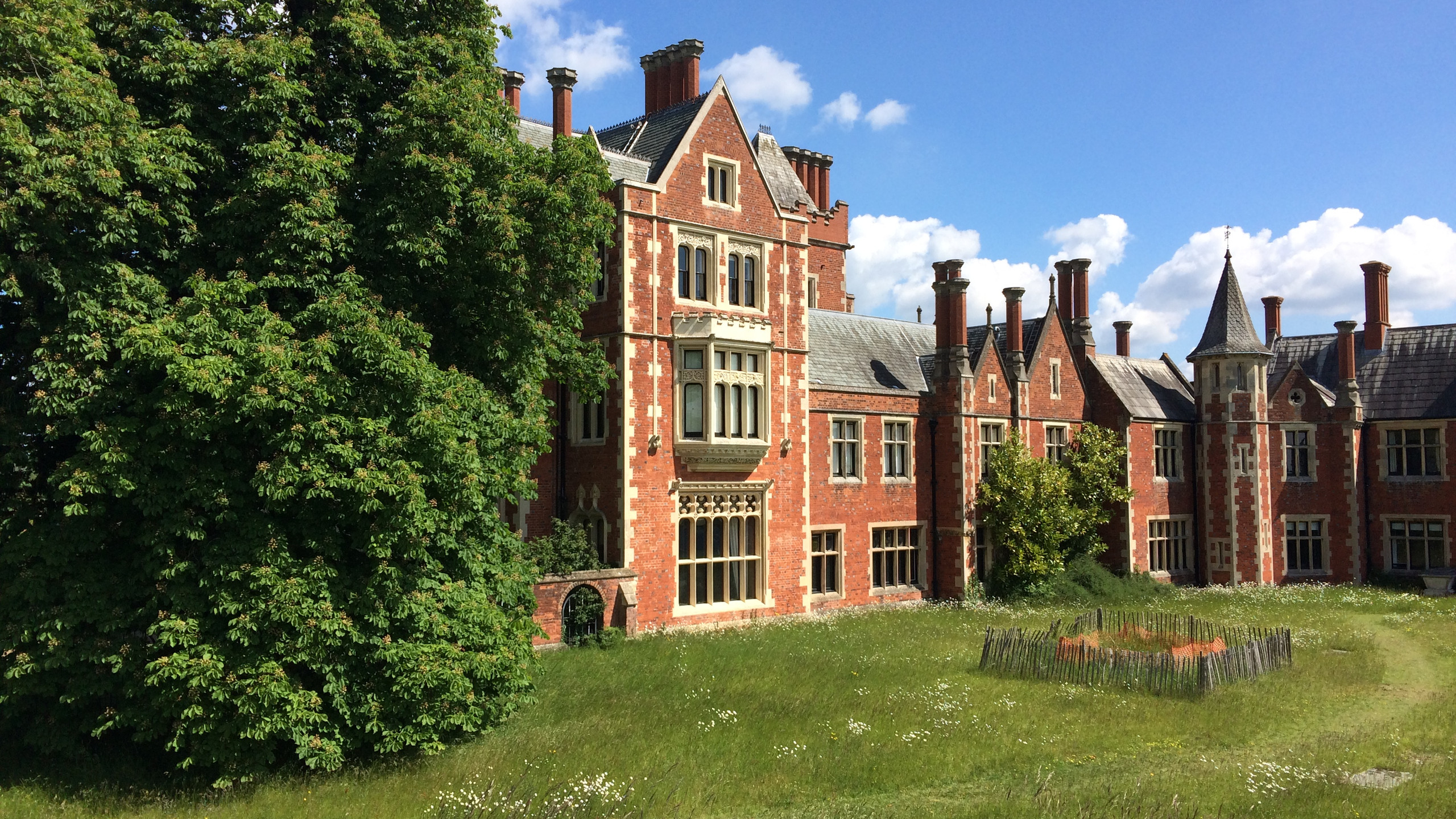 This Victorian manor at Taplow is now, a