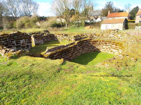 Bolingbroke Castle, Lincolnshire - a wonder in the fens
