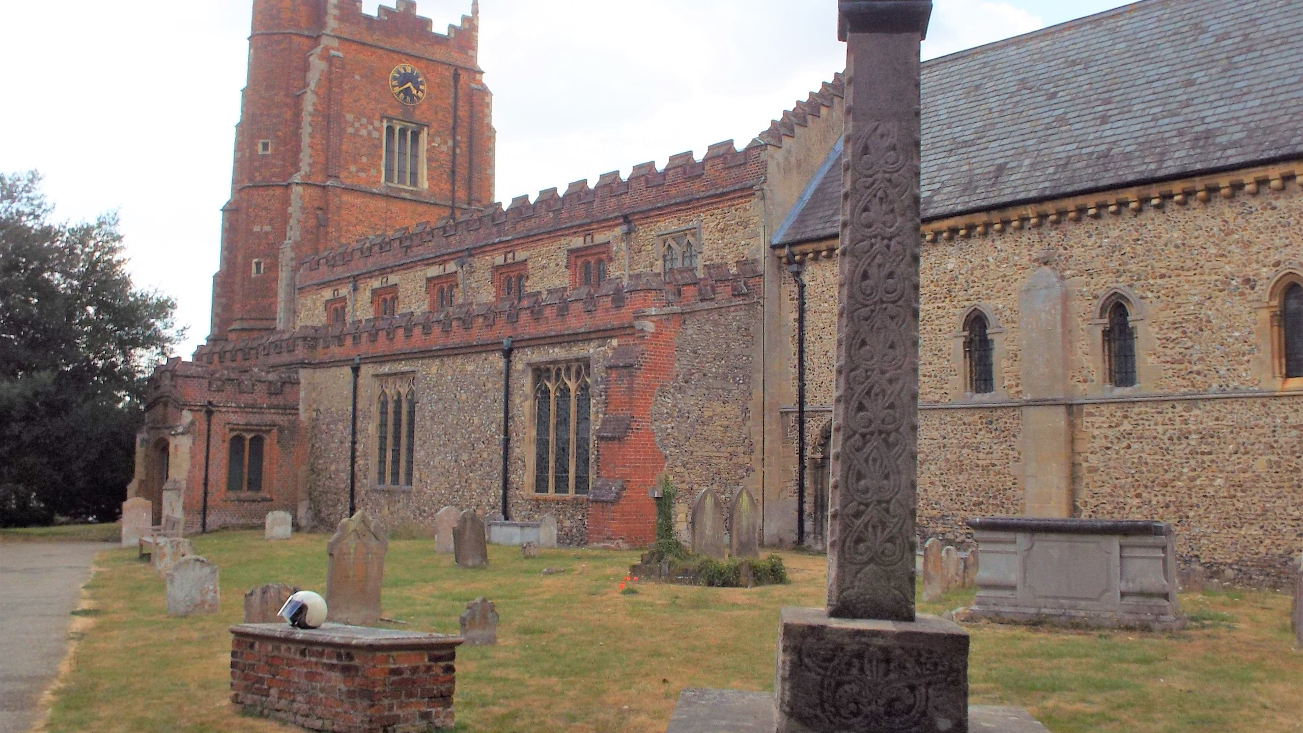 Ancient Church Cross Castle Hedingham