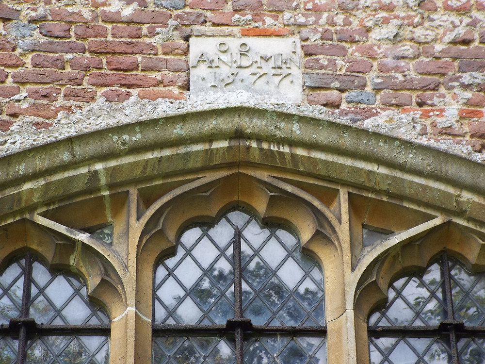 Image of detail of Baeshe Chapel at St James' Church Stanstead Abbotts