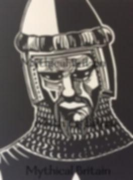 Sir Gawain in King Arthur's Death by Mic