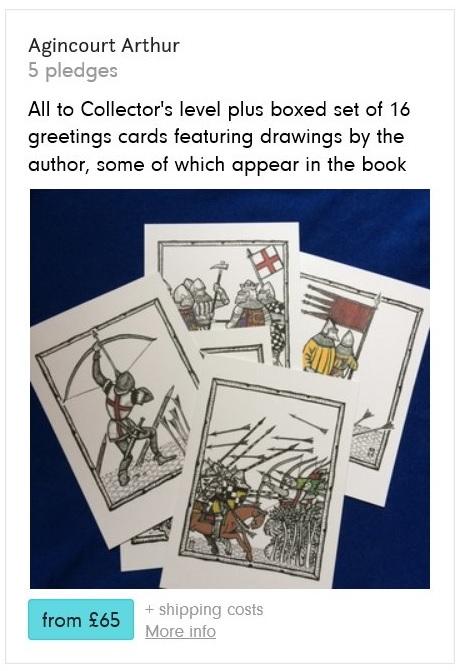 Agincourt Greetings Cards - Pledge Rewar