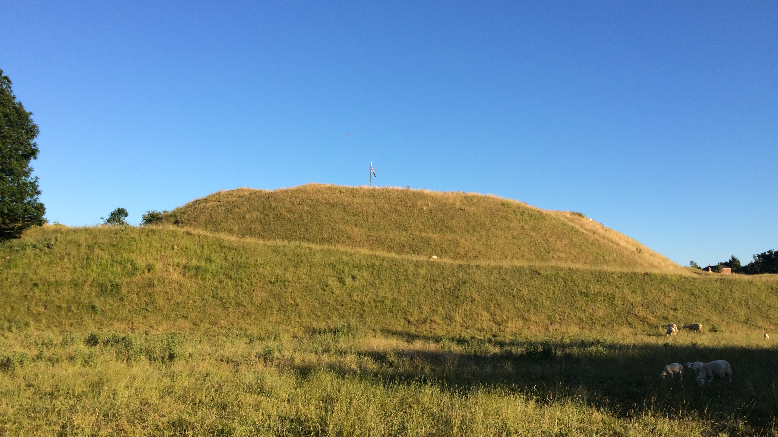 The Great Motte at Castle Bytham