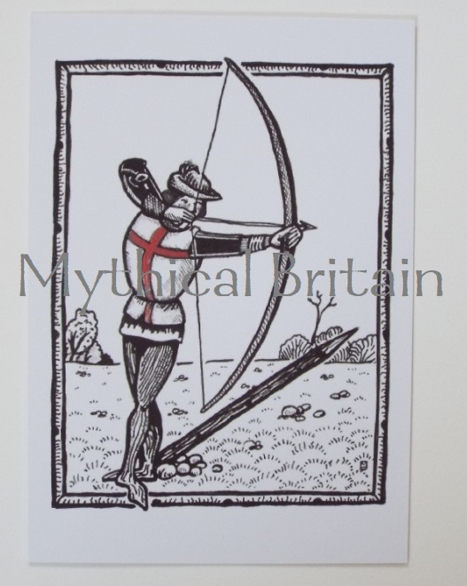 Agincourt Greetings Cards - Archer Point