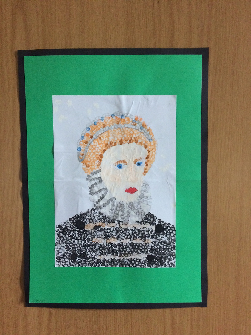 Image of drawing of Queen Elizabeth 1