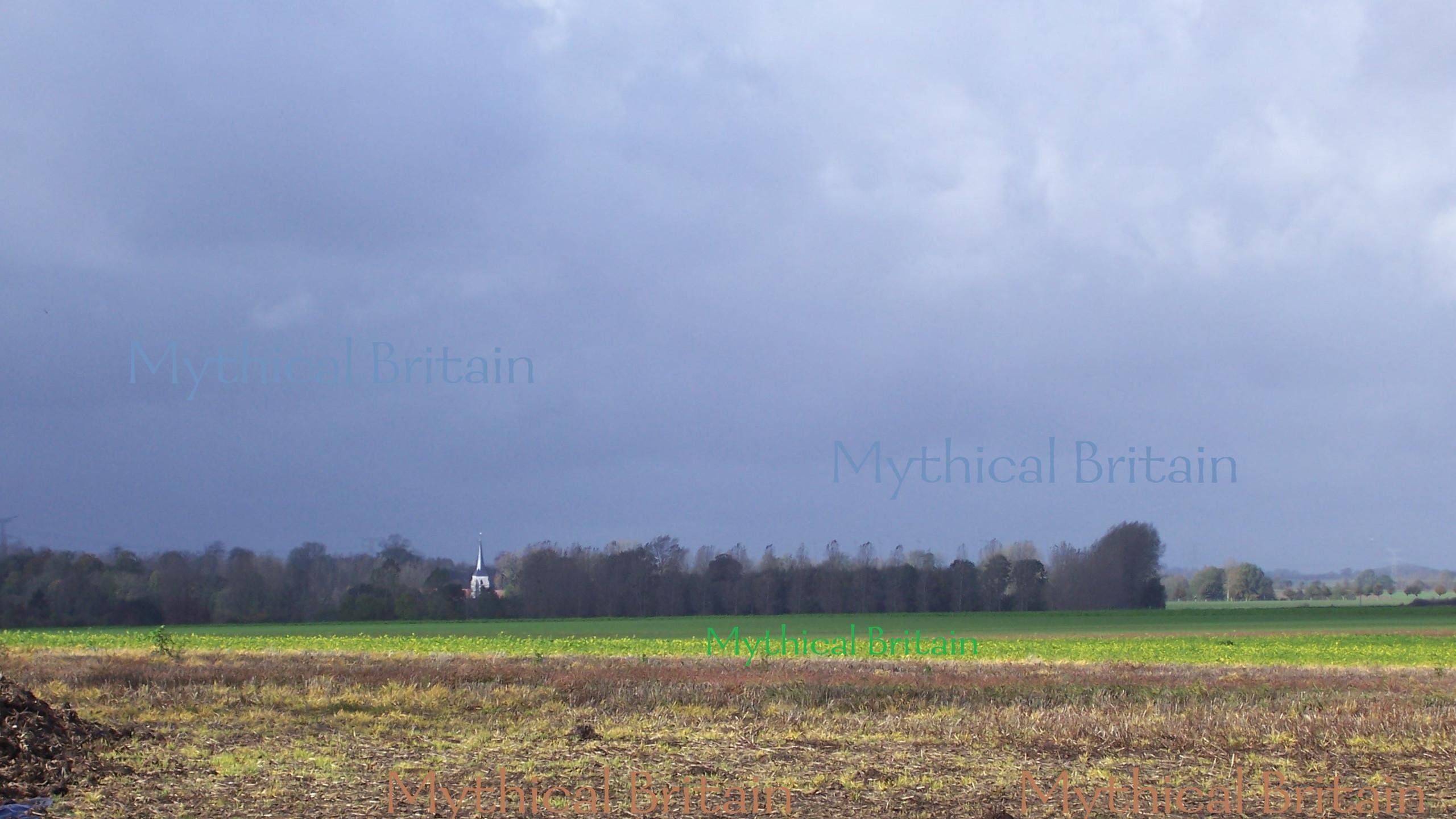 The battlefield of Agincourt, as it is t