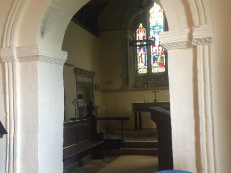 A Wonderful Saxon Church at Strethall, Essex