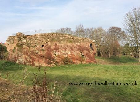 Holt Castle, or Castle Lion, Denbighshire