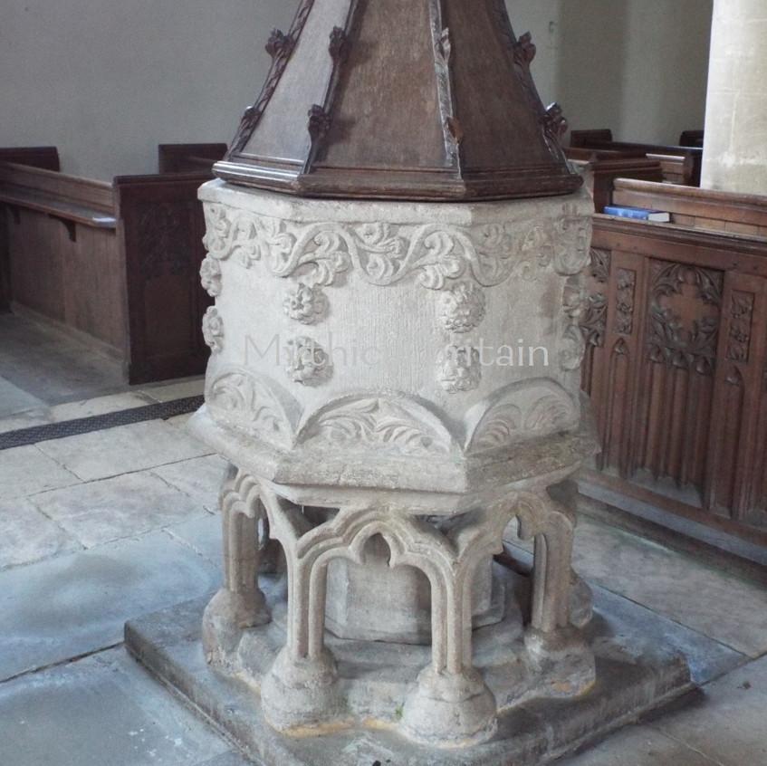 Font, Barnack Church
