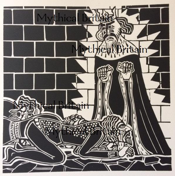 King Arthur's rage