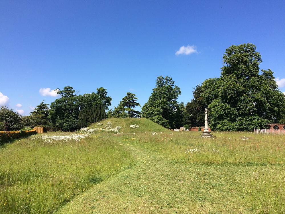 Image of the mound of Taeppa at Taplow in Berkshire