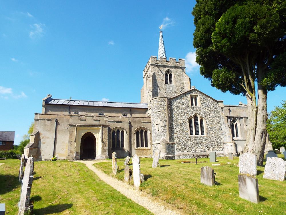 Image of Anstey Church in Hertfordshire