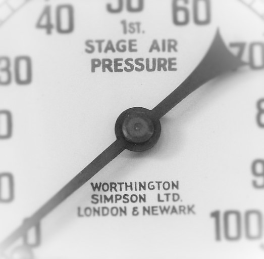 Image of pressure gauge - are customers under too much pressure from marketing overload?