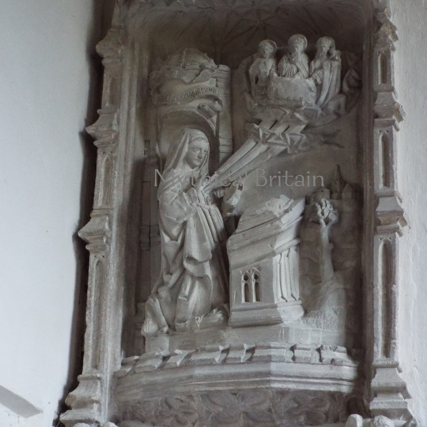 Lady Chapel, Barnack - the Conception of