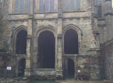 St Winefride's Well - an amazing mediaeval survival rich in history and mythology