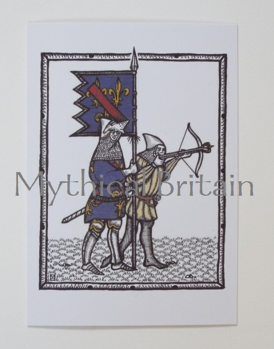 Agincourt Greetings Cards - Orleans