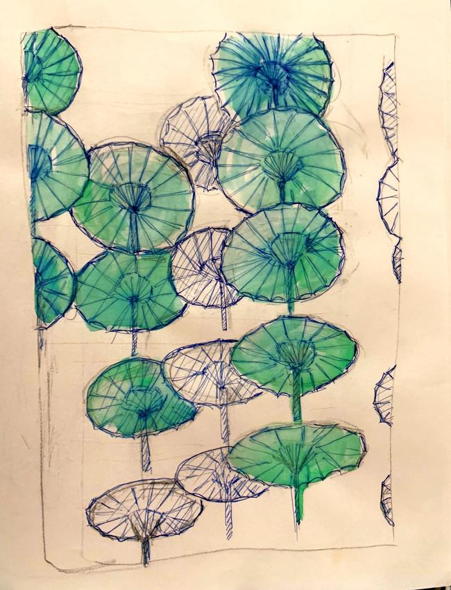 Project planning - umbrellas, 2019