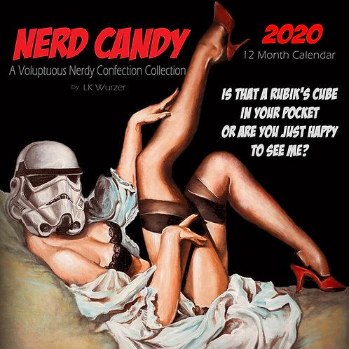2020 Nerd Candy Wall Calendar