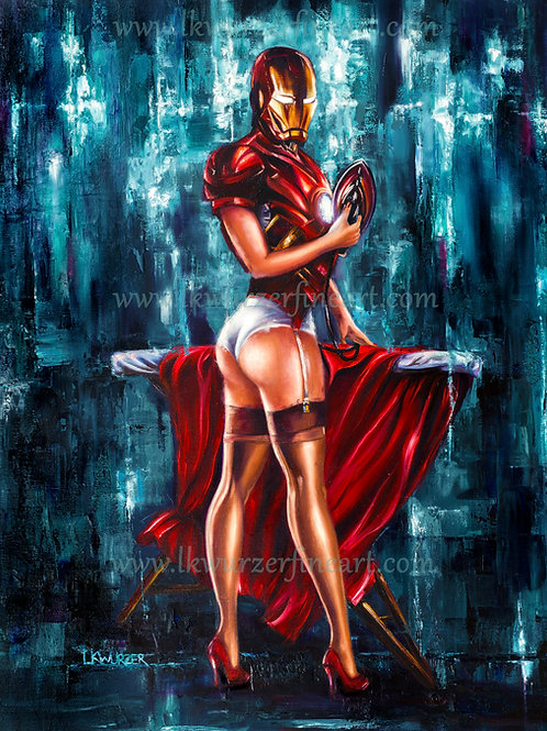 """Iron Maiden"" Fine Art Print"