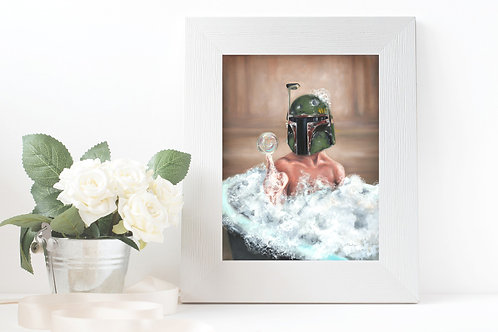 """Bubble Fett"" Fine Art Print"