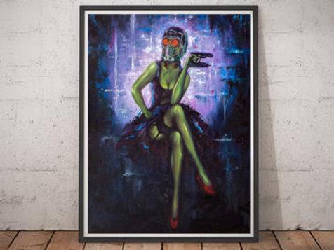 """""""Hooked on a Feeling"""" Fine Art Print"""