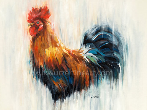 """Ruler of the Roost"" Fine Art Print"