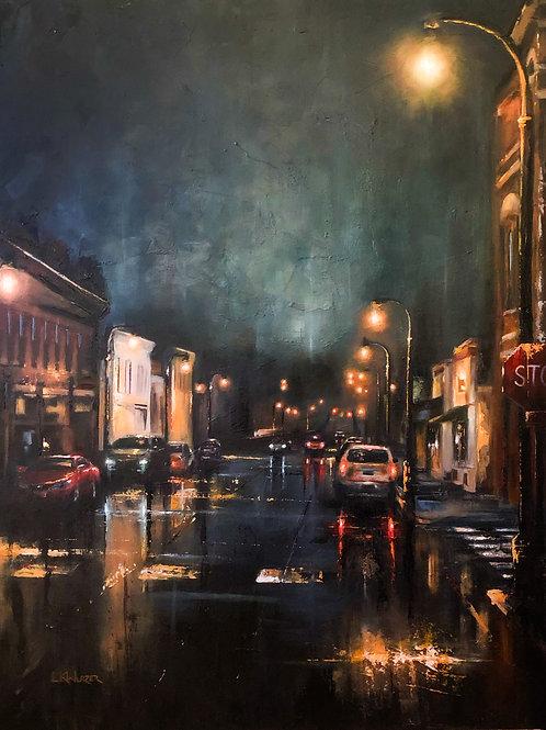 """""""Bridge Avenue"""" Original oil painting, 30x36"""""""