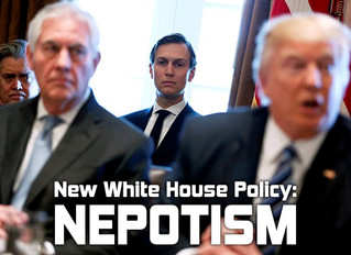 New White House Policy: Nepotism
