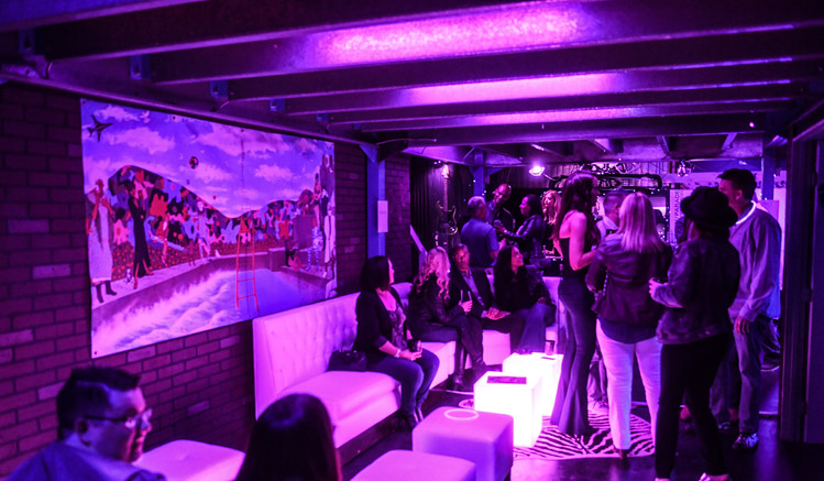 Prince-themed event with full bar