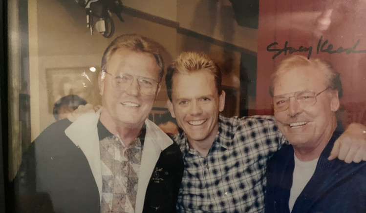 Ken Titus, Christopher Titus, and Stacey Keach