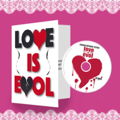 """Love is Evol """"Valentines Day Card"""" Limited Edition DVD"""