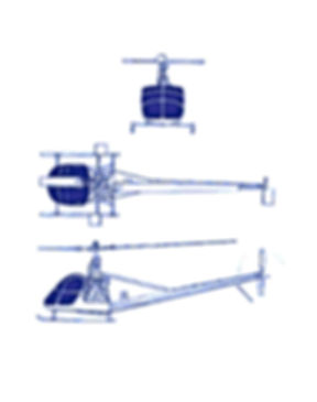 Plan 3 vues UH-12