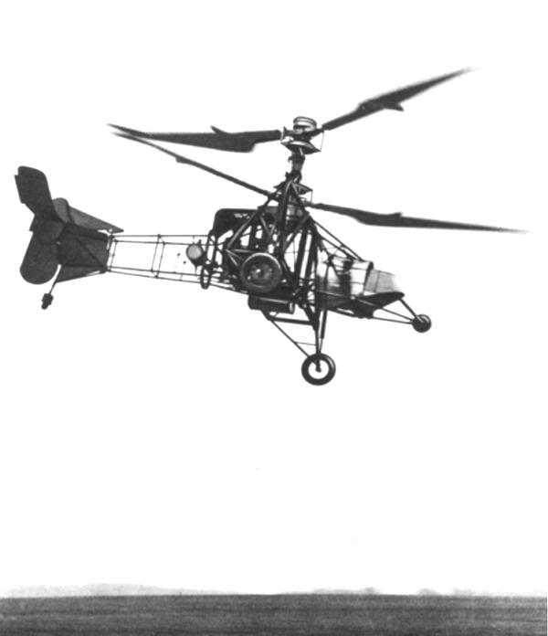 Gyroplane Laboratoire de BREGUET.