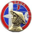 3ème GAOA Indochine, insigne