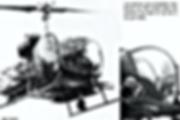 """Les premiers """"Pirate"""" sur Bell 47."""