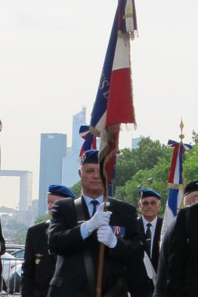 Le drapeau de l'UNAALAT